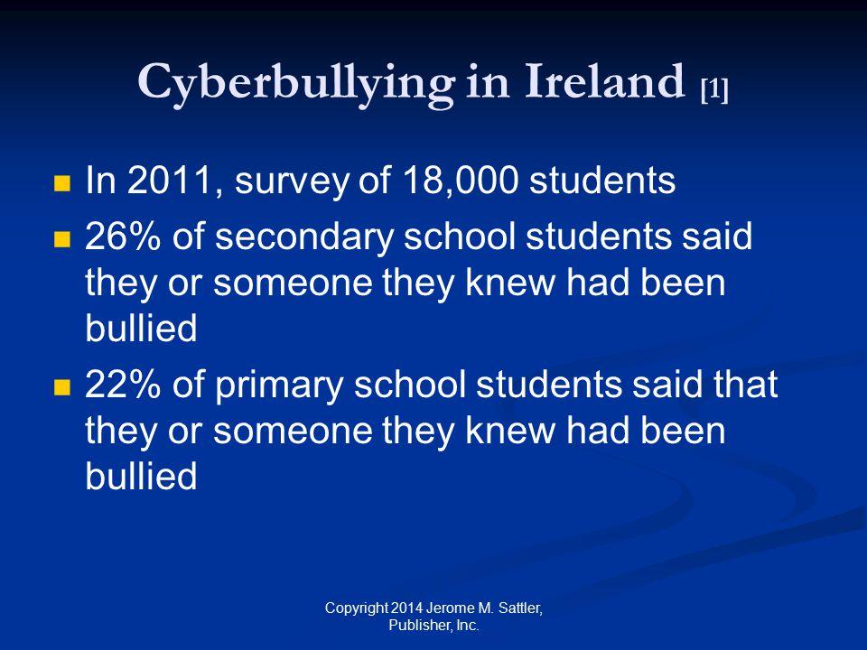 Cyberbullying in Ireland [1]